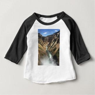 Grand Canyon at Yellowstone Park Baby T-Shirt