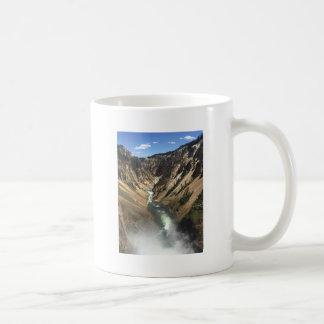 Grand Canyon at Yellowstone Park Coffee Mug