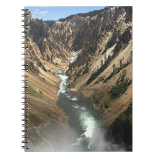 Grand Canyon at Yellowstone Park Notebook