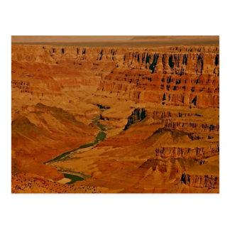 Grand Canyon, Colorado River Postcard