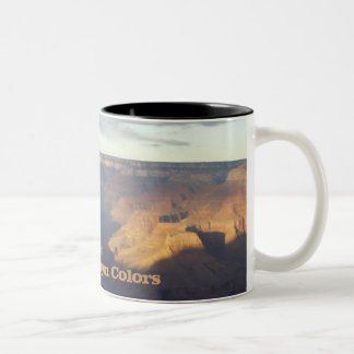 Grand Canyon Colors Two-Tone Coffee Mug