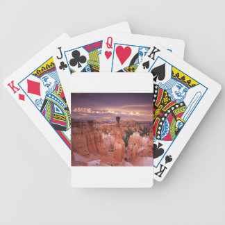 Grand Canyon during Golden Hour Bicycle Playing Cards