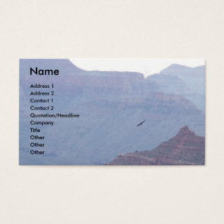 Grand Canyon Eagle in Flight Business Profile Card