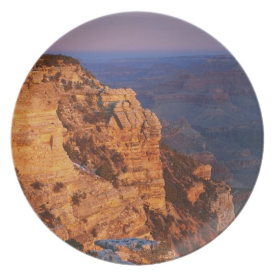 Grand Canyon from south rim, Grand Canyon Plate