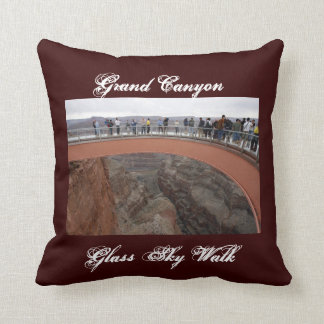 Grand Canyon Glass Skywalk Pillow