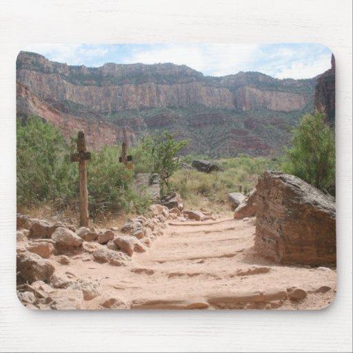 Grand Canyon Hiking Trail Mousepad