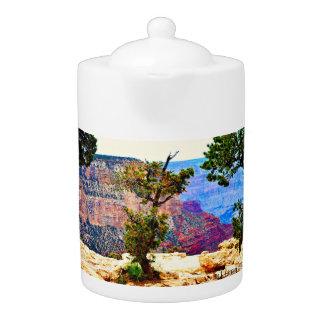 Grand Canyon Landscape Tea Pot