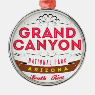 Grand Canyon national park Metal Ornament