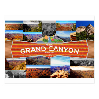 Grand Canyon National Park Postcard