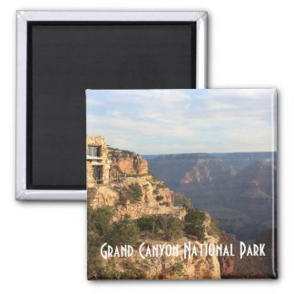 Grand Canyon National Park Souvenir Square Magnet