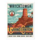 Grand Canyon National Park Watchtower Postcard