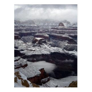Grand Canyon National Park Winter Postcard
