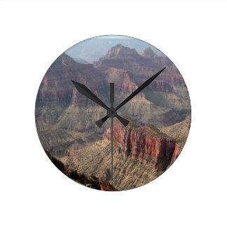 Grand Canyon North Rim, Arizona, USA 6 Round Clock