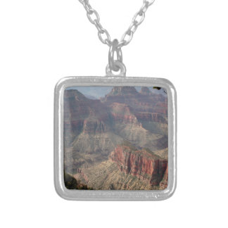 Grand Canyon North Rim, Arizona, USA 6 Silver Plated Necklace