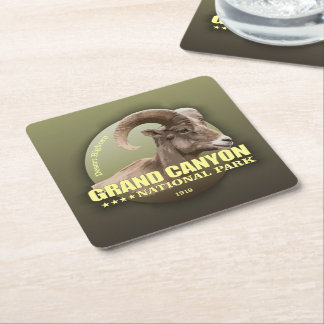 Grand Canyon NP (Bighorn) WT Square Paper Coaster