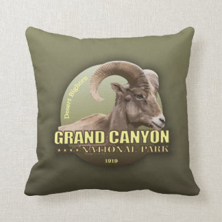 Grand Canyon NP (Bighorn) WT Throw Pillow