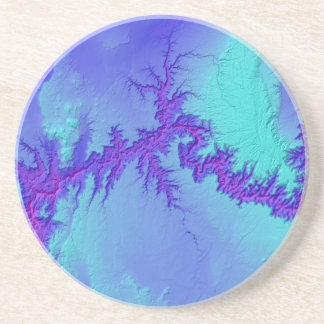 Grand Canyon of Arizona- Bright Nebula Style Coaster