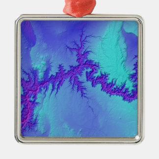 Grand Canyon of Arizona- Bright Nebula Style Metal Ornament
