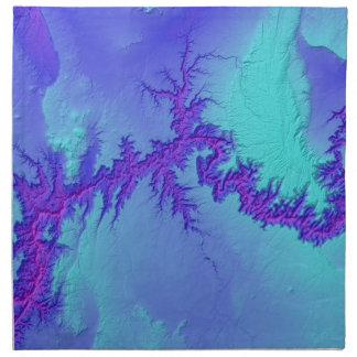 Grand Canyon of Arizona- Bright Nebula Style Napkin