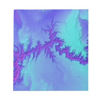 Grand Canyon of Arizona- Bright Nebula Style Notepad