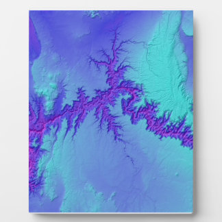 Grand Canyon of Arizona- Bright Nebula Style Plaque
