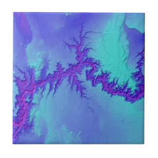 Grand Canyon of Arizona- Bright Nebula Style Tile