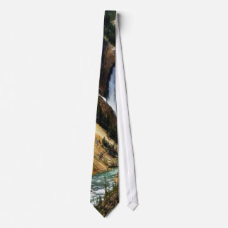Grand Canyon Of The Yellowstone Park Looking Towar Tie