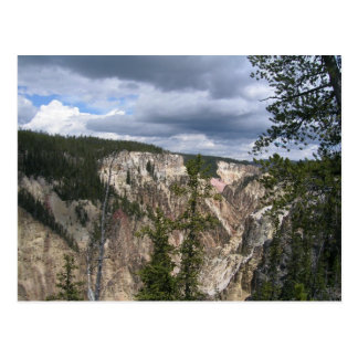 Grand Canyon of the Yellowstone Postcard
