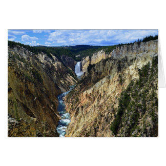 Grand Canyon of the Yellowstone River Card