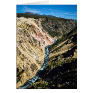 Grand Canyon of Yellowstone - Blank Greeting Card
