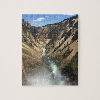 Grand Canyon of Yellowstone Park Jigsaw Puzzle