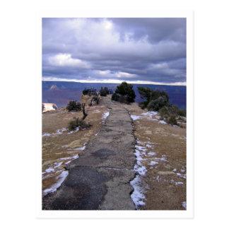 Grand Canyon Path Postcard