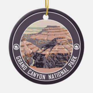 Grand Canyon PHOTO FRAME Souvenir Ceramic Ornament