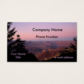 Grand Canyon Photography Business Card