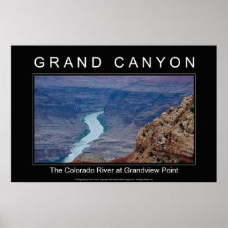 Grand Canyon Poster 4820 Black