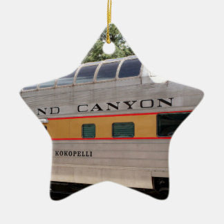 Grand Canyon Railway carriage, Arizona Ceramic Ornament