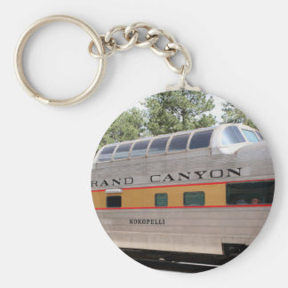 Grand Canyon Railway carriage, Arizona Keychain