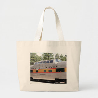 Grand Canyon Railway carriage, Arizona Large Tote Bag