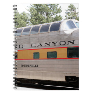 Grand Canyon Railway carriage, Arizona Notebook