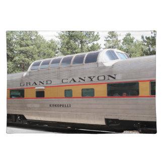 Grand Canyon Railway carriage, Arizona Placemat