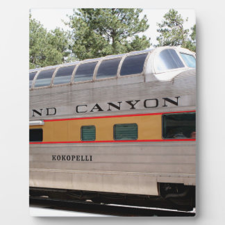 Grand Canyon Railway carriage, Arizona Plaque