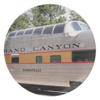 Grand Canyon Railway carriage, Arizona Plate