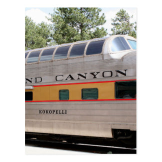 Grand Canyon Railway carriage, Arizona Postcard