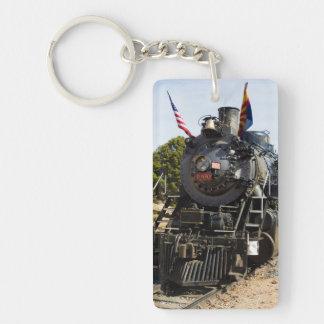 Grand Canyon Railway steam engine 4960 Double-Sided Rectangular Acrylic Keychain