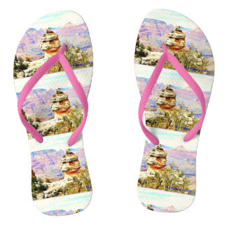 Grand Canyon Rock Flip Flops