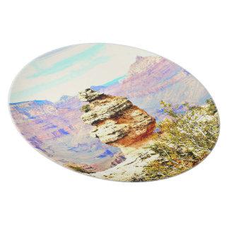 Grand Canyon Rock Melamine Plate