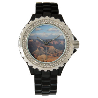 Grand Canyon seen from South Rim in Arizona Wrist Watches
