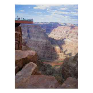 Grand Canyon / Skywalk (Poster) Poster