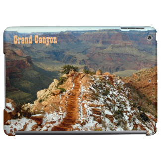 Grand Canyon South Kaibab Trail Catwalk Horizontal iPad Air Cover