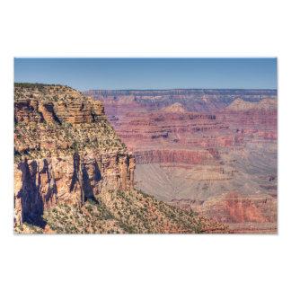 Grand Canyon South Rim Trail Photographic Print